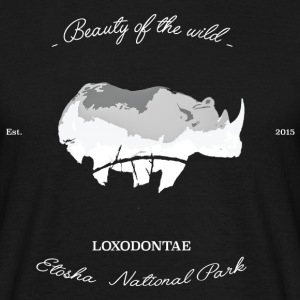 Loxodontae Etosha National Park Womens - Mannen T-shirt