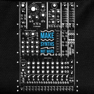 Make Synths Not Wars (Modular) - Kids' Backpack