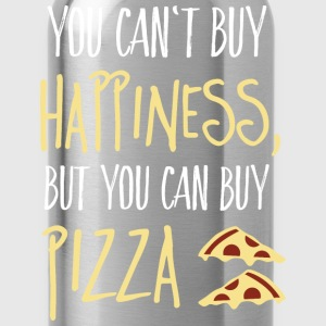 Cant buy happiness, but pizza Pullover & Hoodies - Trinkflasche