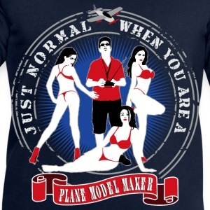 just_normal_when_you_are_a_plane_modelma T-Shirts - Männer Sweatshirt von Stanley & Stella