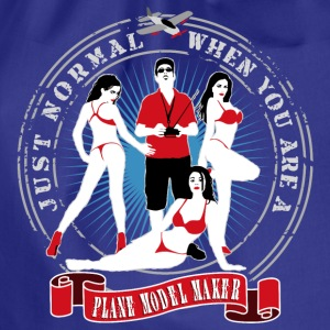 just_normal_when_you_are_a_plane_modelma T-Shirts - Turnbeutel