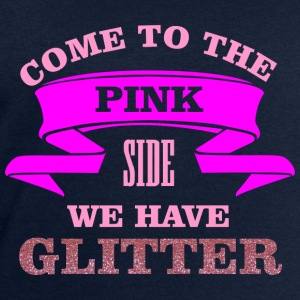 Come to the pink side - we have glitter Toppar - Sweatshirt herr från Stanley & Stella