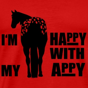 Happy with my Appaloosa Tops - Men's Premium T-Shirt