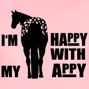 Happy with my Appaloosa Hoodies - Women's Premium T-Shirt