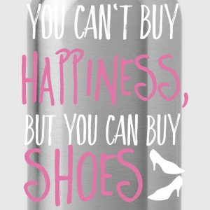 Cant buy happiness, but shoes Tops - Trinkflasche