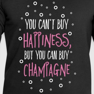 Cant buy happiness, but champagne Tops - Männer Sweatshirt von Stanley & Stella