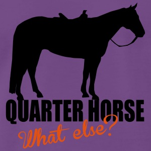 Quarter Horse -- What else? Tops - Mannen Premium T-shirt