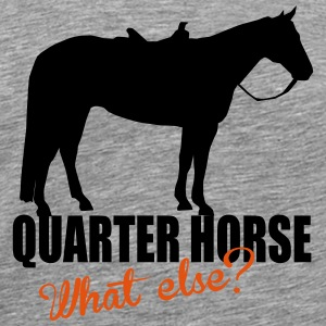 Quarter Horse -- What else? Skjorter med lange armer - Premium T-skjorte for menn