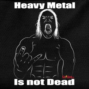 heavy metal is not dead - Sac à dos Enfant