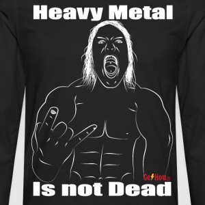 heavy metal is not dead - T-shirt manches longues Premium Homme