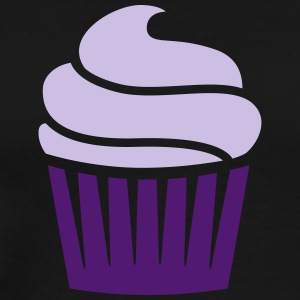 cupcake two-colored Tröjor - Premium-T-shirt herr