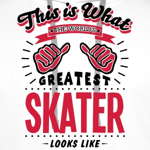 skater worlds greatest looks like - Men's Premium Hoodie