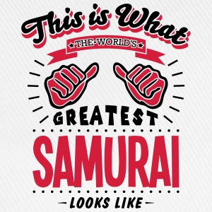 samurai worlds greatest looks like - Baseball Cap