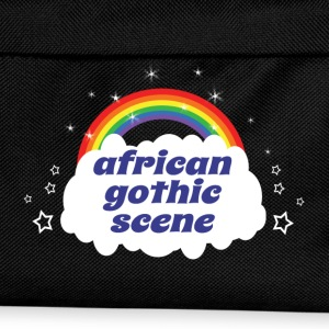 african gothic scene T-Shirts - Kids' Backpack