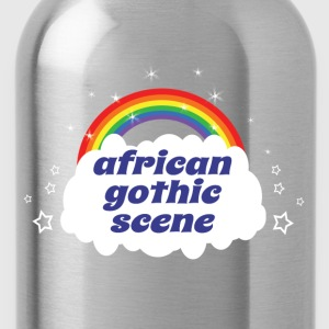 african gothic scene T-Shirts - Water Bottle