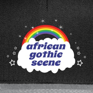 african gothic scene Tee shirts - Casquette snapback
