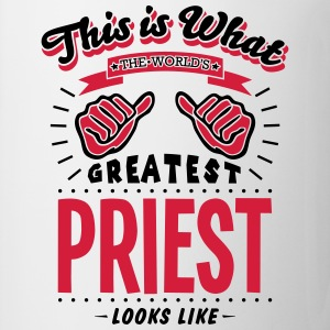 priest worlds greatest looks like - Mug