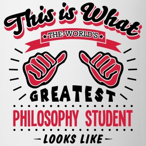 philosophy student worlds greatest looks - Mug