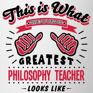 philosophy teacher worlds greatest looks - Mug