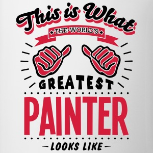 painter worlds greatest looks like - Mug