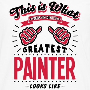 painter worlds greatest looks like - Men's Premium Longsleeve Shirt
