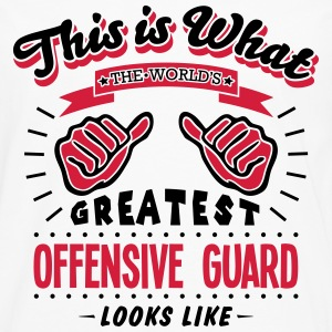 offensive guard worlds greatest looks li - Men's Premium Longsleeve Shirt