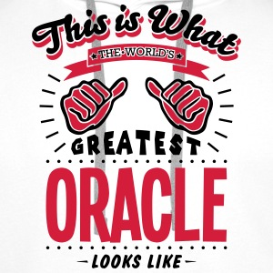 oracle worlds greatest looks like - Men's Premium Hoodie