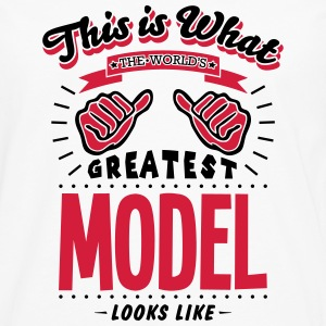 model worlds greatest looks like - Men's Premium Longsleeve Shirt