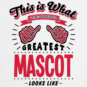 mascot worlds greatest looks like - Cooking Apron