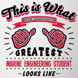 marine engineering student worlds greate - Mug