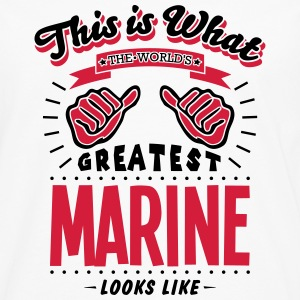 marine worlds greatest looks like - Men's Premium Longsleeve Shirt