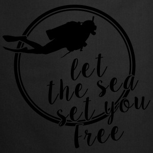 Let The Sea Set You Free - Kochschürze