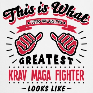 krav maga fighter worlds greatest looks  - Cooking Apron
