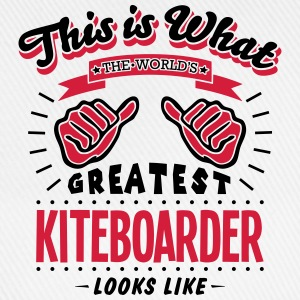 kiteboarder worlds greatest looks like - Baseball Cap