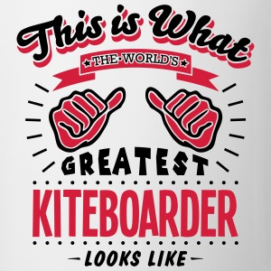 kiteboarder worlds greatest looks like - Mug