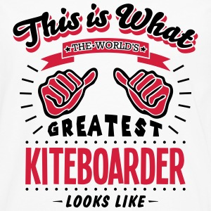 kiteboarder worlds greatest looks like - Men's Premium Longsleeve Shirt