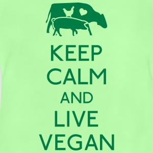 Keep Calm live vegan Shirts - Baby T-Shirt