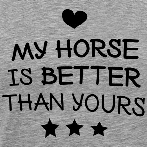 My Horse Hoodies & Sweatshirts - Men's Premium T-Shirt