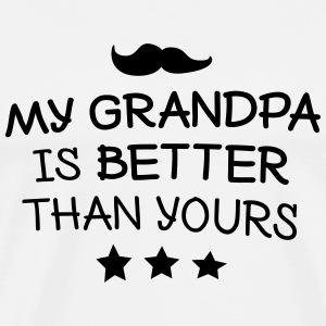My Grandpa Tops - Men's Premium T-Shirt