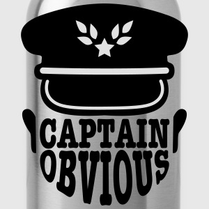 captain obvious T-Shirts - Water Bottle