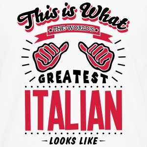 italian worlds greatest looks like - Men's Premium Longsleeve Shirt