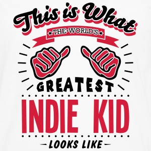 indie kid worlds greatest looks like - Men's Premium Longsleeve Shirt