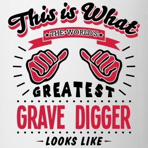 grave digger worlds greatest looks like - Mug