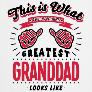 granddad worlds greatest looks like - Cooking Apron