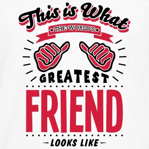friend worlds greatest looks like - Men's Premium Longsleeve Shirt