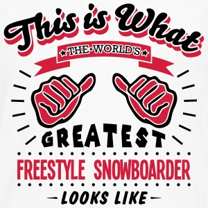 freestyle snowboarder worlds greatest lo - Men's Premium Longsleeve Shirt