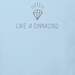 Like a diamond Baby Bodys - Kinder Bio-T-Shirt