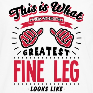 fine leg worlds greatest looks like - Men's Premium Longsleeve Shirt
