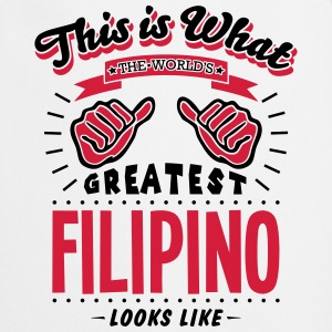 filipino  worlds greatest looks like - Cooking Apron