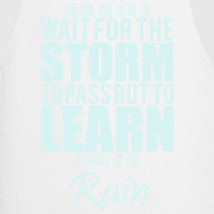 learn to dance in the rain T-shirts - Keukenschort